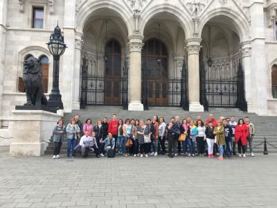Výlet v Budapešti 2019